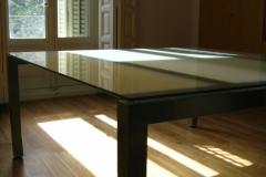 Mesa reuniones cristal