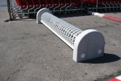 Aparcabicicletas para la zona del parking