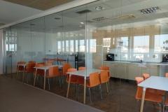 Amplia zona de office