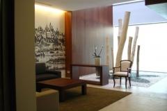 Ambiente de las salas