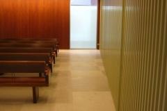 Vista del oratorio